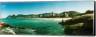 Tourists on the beach, Ipanema Beach, Rio de Janeiro, Brazil Fine-Art Print