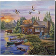 Sunset on the Lake Fine-Art Print