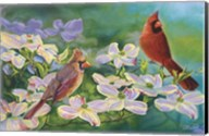 Cardinals Of Spring Fine-Art Print