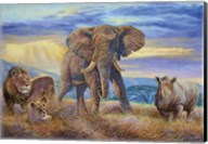 African Savannah Fine-Art Print