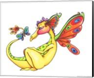 Cheerful - Dragon 10 Fine-Art Print