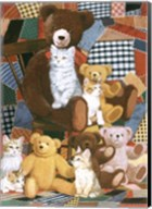 Teddy's And Friends Fine-Art Print