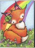 Lucky Little Fox Fine-Art Print