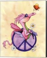 Flower Power Dragon Fine-Art Print