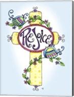 Rejoice Bird Cross Fine-Art Print