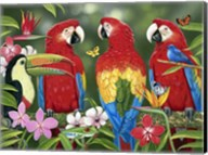 Tropical Friends Fine-Art Print