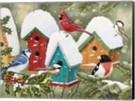 Winter Village Fine-Art Print