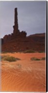 Monument Valley Panorama 1 3 of 3 Fine-Art Print