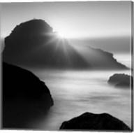 Long sunset at Indian Beach Fine-Art Print