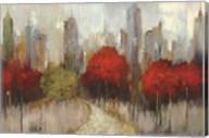 Downtown Red Fine-Art Print