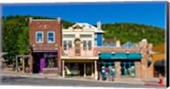 Buildings along Main Street, Park City, Utah Fine-Art Print