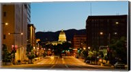 Utah State Capitol Building at Night, Salt Lake City, Utah Fine-Art Print