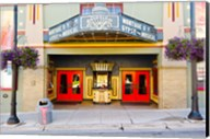 Facade of the Egyptian Theater, Main Street, Park City, Utah, USA Fine-Art Print