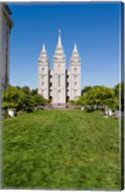 Mormon Temple, Temple Square, Salt Lake City, Utah Fine-Art Print