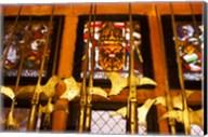 Medieval Armory, Chateau du Haut-Koenigsbourg, Orschwiller, Alsatian Wine Route, Bas-Rhin, Alsace, France Fine-Art Print