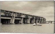 World War Two-era Nazi submarine base now an art gallery, Bordeaux, Gironde, Aquitaine, France Fine-Art Print