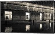 Interiors of World War Two-era Nazi submarine, Bordeaux, Gironde, Aquitaine, France Fine-Art Print