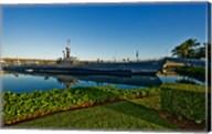 World War II submarine at a museum, USS Bowfin Submarine Museum And Park, Pearl Harbor, Honolulu, Oahu, Hawaii, USA Fine-Art Print
