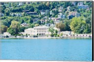 Buildings on a hill, Villa Olmo, Lake Como, Lombardy, Italy Fine-Art Print