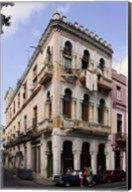 Buildings along the street, Havana, Cuba Fine-Art Print