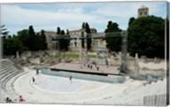 Ancient theatre built 1st century BC, Theatre Antique D'Arles, Arles, Provence-Alpes-Cote d'Azur, France Fine-Art Print
