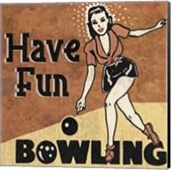 Have Fun Bowling Fine-Art Print