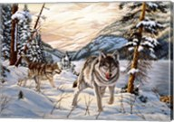 Winter Hunt Fine-Art Print