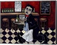 French Waiter I Fine-Art Print