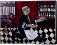 French Waiter II Fine-Art Print