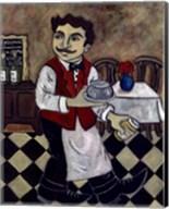 French Waiter IV Fine-Art Print