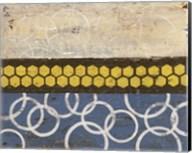 Honey Comb Abstract I Fine-Art Print