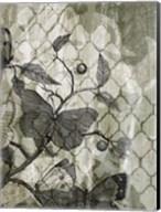 Arabesque Butterflies I Fine-Art Print