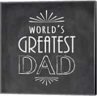 World's Greatest Dad Fine-Art Print