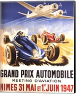 Grand Prix Automobile Nimes Fine-Art Print