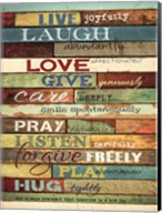 Live Joyfully Fine-Art Print