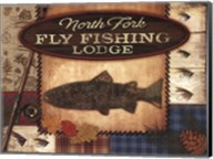 Fly Fishing Lodge Fine-Art Print