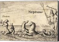 The Greek Gods Neptune Fine-Art Print