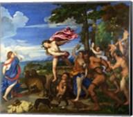 Titian Bacchus and Ariadne Fine-Art Print