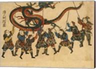 Chinese Dragon Dance Fine-Art Print