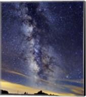 The Milky Way in Serra da Estrela, Portugal Fine-Art Print