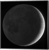 Moon with earthshine Fine-Art Print