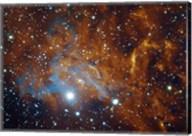 Flaming Star Nebula in Auriga Fine-Art Print