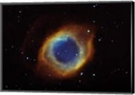 Helix nebula in Aquarius (NGC 7293) Fine-Art Print