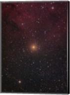 Mu Cephei, a red supergiant in the constellation Cepheus Fine-Art Print