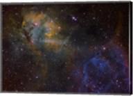 Sharpless 2-132 emission nebula Fine-Art Print