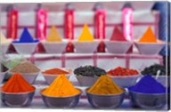 Colorful Spices in the Market, Egypt Fine-Art Print