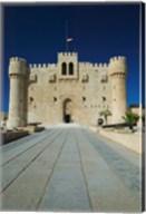 Fort Qu'it Bey, Alexandria, Mediterranean Sea, Egypt Fine-Art Print