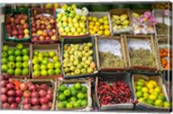 Fruit for sale in the Market Place, Luxor, Egypt Fine-Art Print