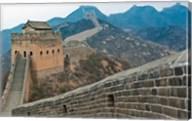 China, Hebei, Luanping, Chengde. Great Wall of China Fine-Art Print
