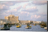 15th Century Castle, Fort Qait Bay, Alexandria, Egypt Fine-Art Print